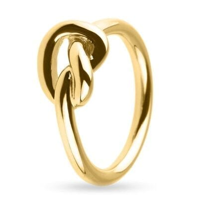 Sophie by Sophie – Knot ring, guld