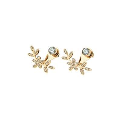 Ingnell Jewellery – Grace örhängen, Silver