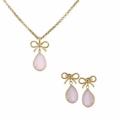 Ingnell Jewellery – Molly Aqua silver, set