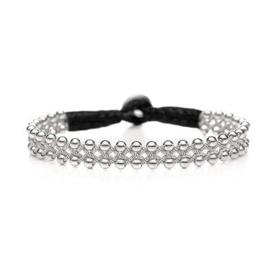 Nordic Jewelry Design – Silvia Tennarmband, svart