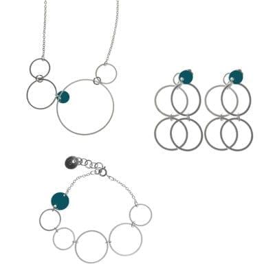Pendulum – Eclipse set, silver