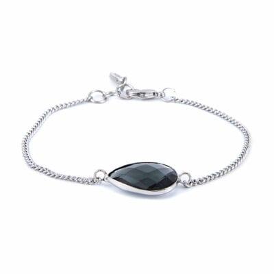 Grace armband, silver