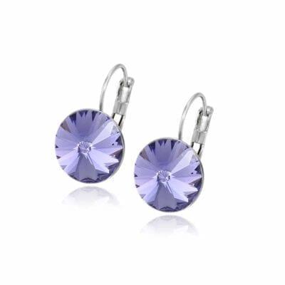Smyckendahls – Kristallörhängen Annie, Magic Mauve