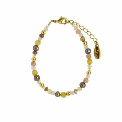 Hultquist – Rhombus armband, guld