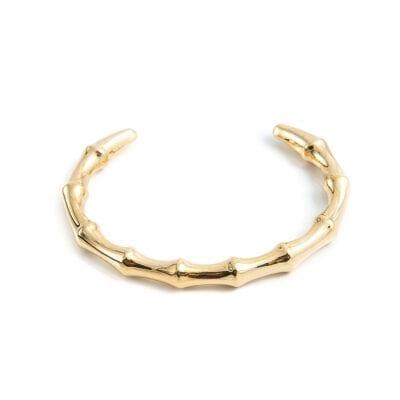 By Jolima – Bamboo armband, guld