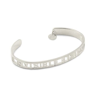 Syster P – Invincible armband, silver