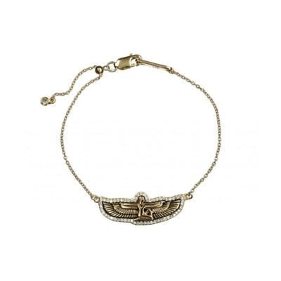 Kumkum – Goddess armband, guld