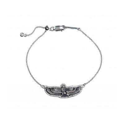 Kumkum – Goddess armband, silver