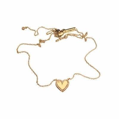 Kumkum – Heart halsband, guld