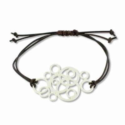 RAS – Circulos armband, silver