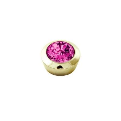 Dyrberg/Kern – Compliments topp: Strength Pink/guld