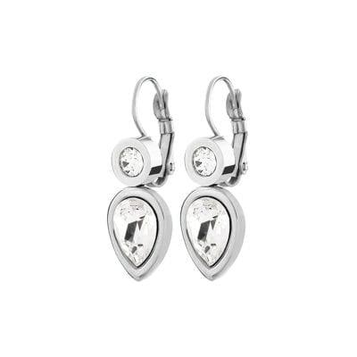 Dyrberg/Kern – Verna örhängen, kristall/silver