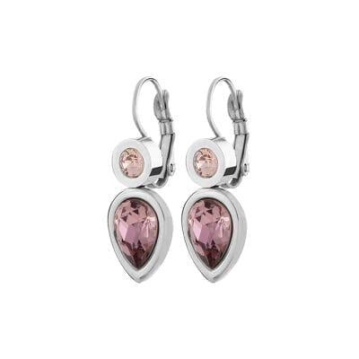 Dyrberg/Kern – Verna Antique Pink örhängen, rosa