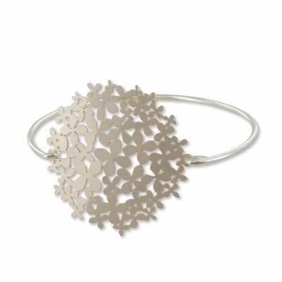 RAS – Hydrangea armband, silver