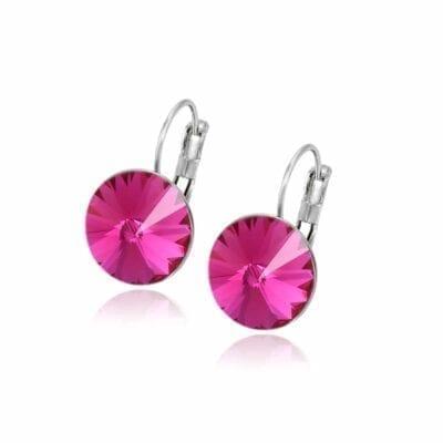 Smyckendahls – Kristallörhängen Annie, Scarlet rose