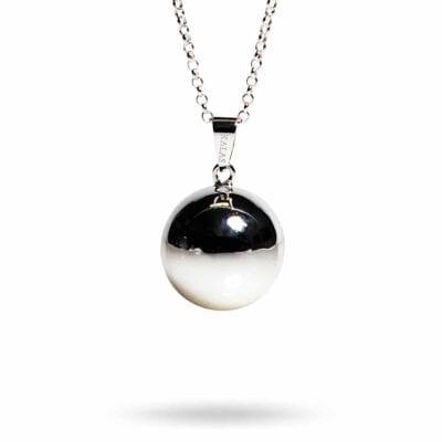 Kalas Smycken – Bola gravidhalsband, silver