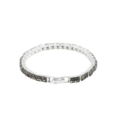 Snö of Sweden – Trio armband, silver/grey