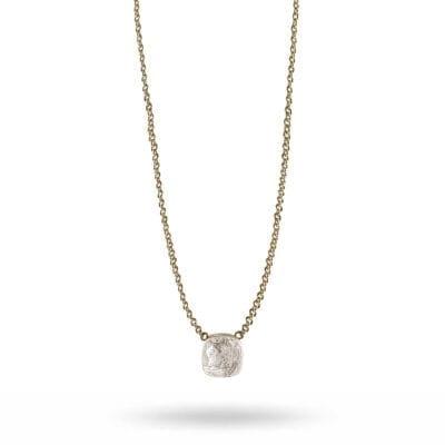 Snö of Sweden – Hatt pendant halsband, kristall