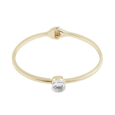 Snö of Sweden – Hatt bangle armband, kristall