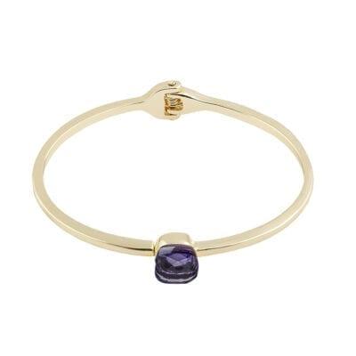 Snö of Sweden – Hatt bangle armband, purple