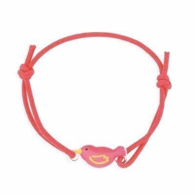 Ribambelle – Oiseau armband, korall