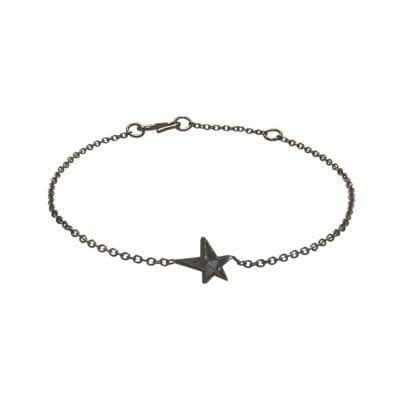 Baumgarten Di Marco – Star armband, svart