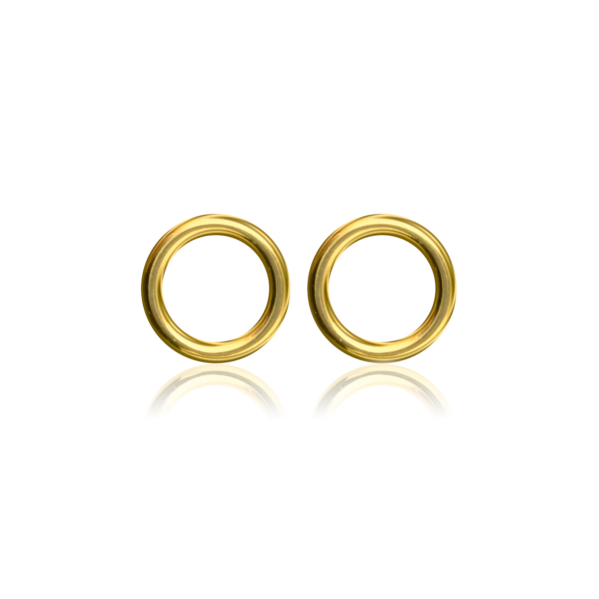 Circle-studs-Guld-pläterad-silver-Sophie-by-Sophie-R