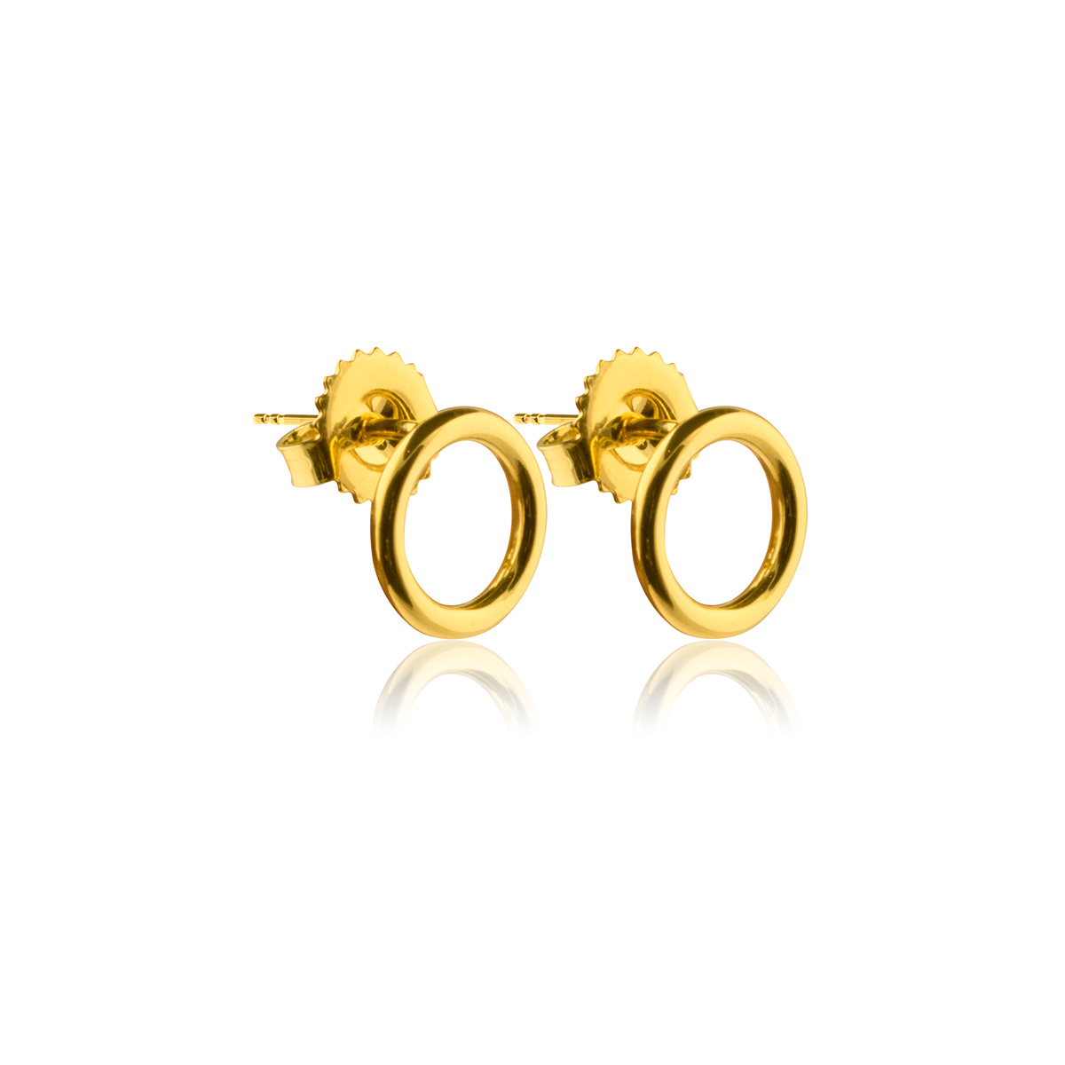 Circle-studs-Guld-pläterad-silver-Sophie-by-Sophie-Side-R
