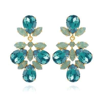 Caroline Svedbom – Selene Örhängen Light Turquoise Pacific Opal 67e6ca4b2ab65