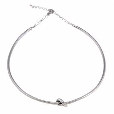 Ingnell Jewellery – Ella halsring, silver