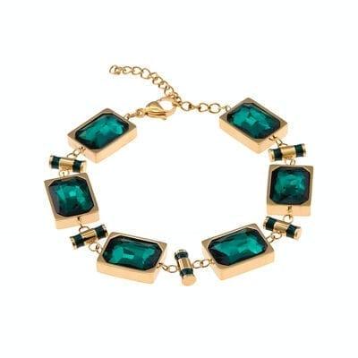 Ingnell Jewellery – Esmeralda armband, guld
