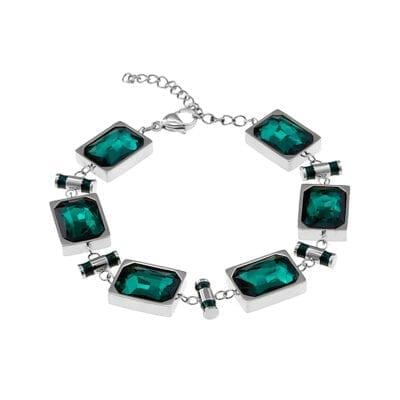Ingnell Jewellery – Esmeralda armband, stål