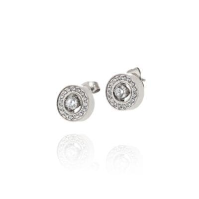 Ingnell Jewellery – Estelle stud örhängen, silver