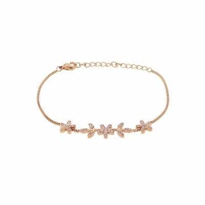 Ingnell Jewellery – Grace armband, rosé