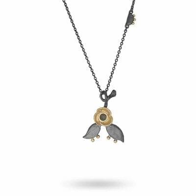 Lotta Jewellery – Lime Hazel Halsband, brons