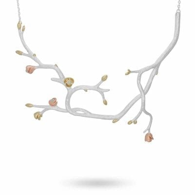 Ichiban halsband, silver