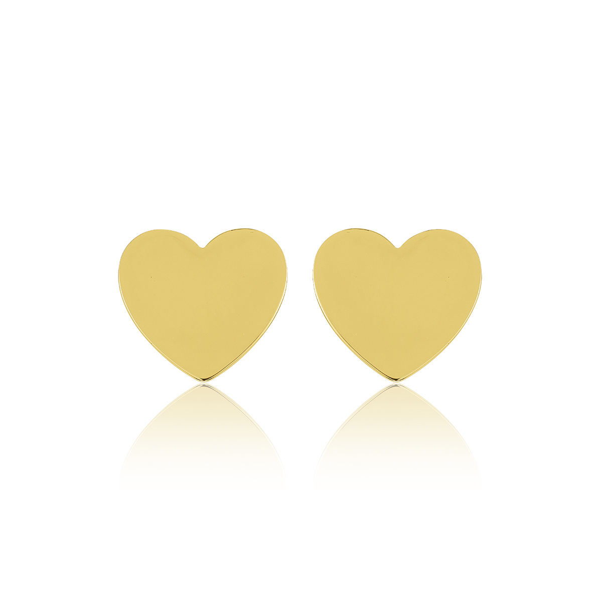 Heart-mini-studs-Gold-plated-silver-R-5