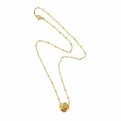 Ingnell Jewellery – Kim halsband, guld