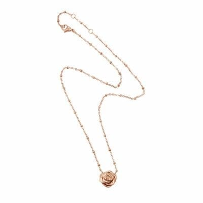 Ingnell Jewellery – Kim halsband, rosé
