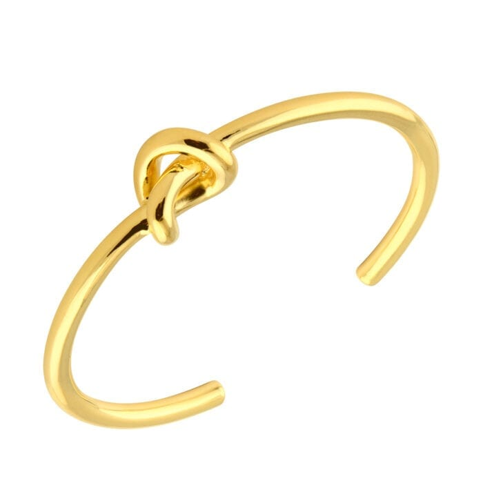 Knot-cuff-Guld-pläterad-silver-Sophie-by-Sophie