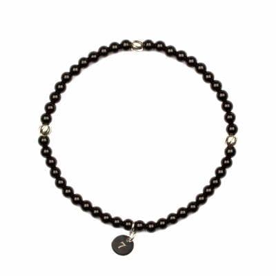 Seven/East – Berlin armband, svart