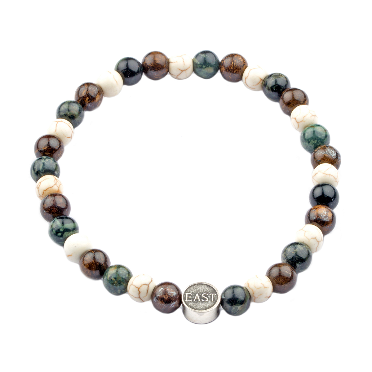 Seven/East – El Campello armband, grönt