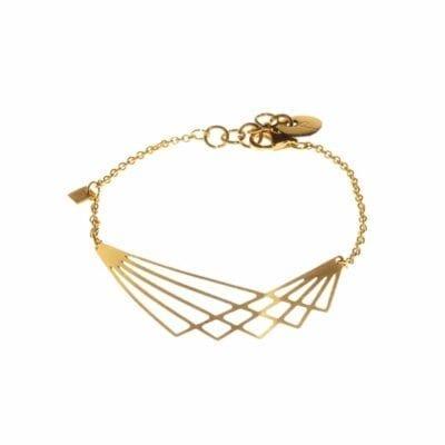 Wing armband, guld