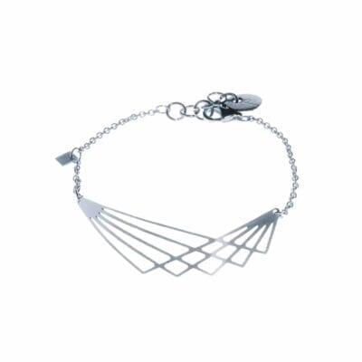 Pendulum – Wing armband, silver
