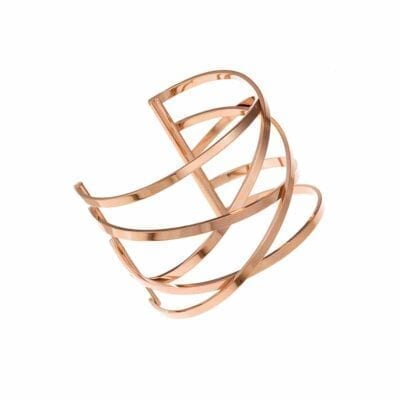 Ingnell Jewellery – Miriam bangle armband, rosé
