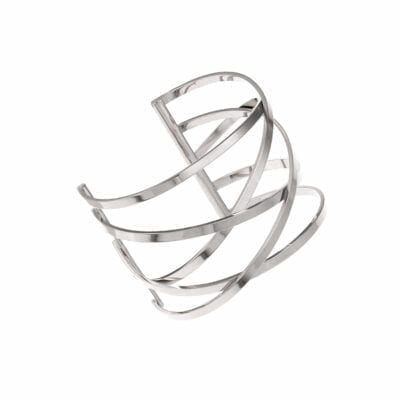 Ingnell Jewellery – Miriam bangle armband, silver
