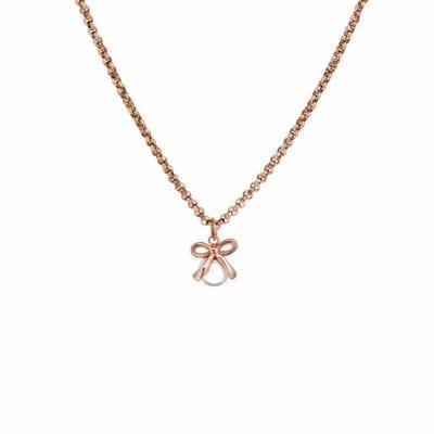 Ingnell Jewellery – Molly bride halsband, rosé