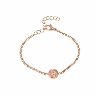 Ingnell Jewellery – Olivia thin armband, rosé