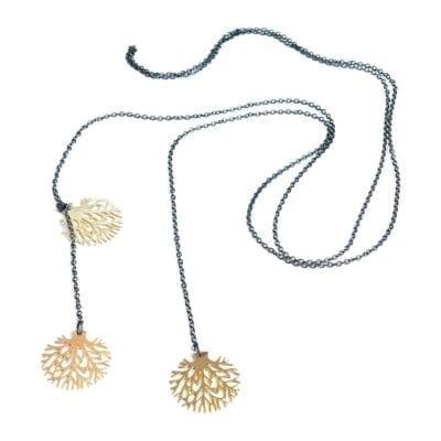 Pendulum – Oaktree halsband, oxid/guld