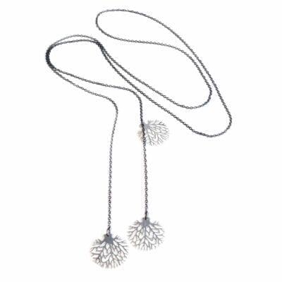 Pendulum – Oaktree halsband, oxid/silver